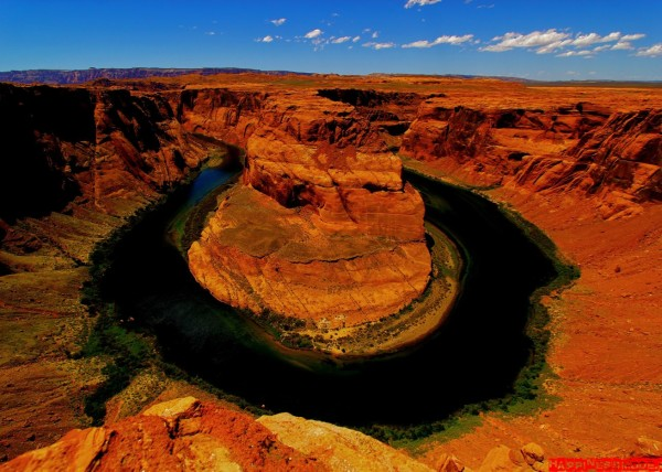 Horseshoe Bend w Arizonie