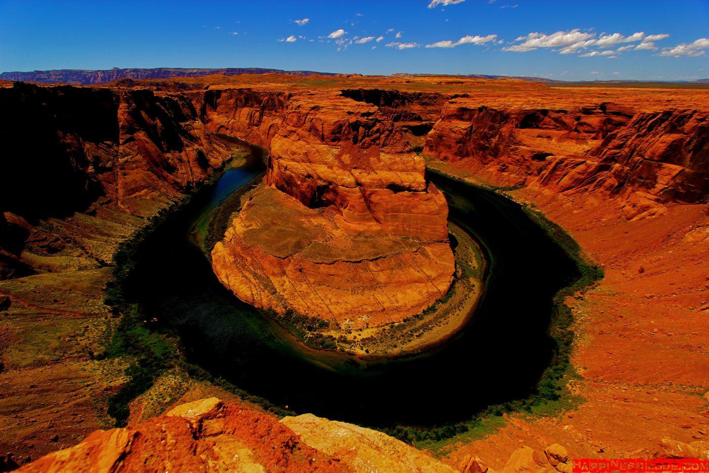 Horseshoe Bend w Arizonie