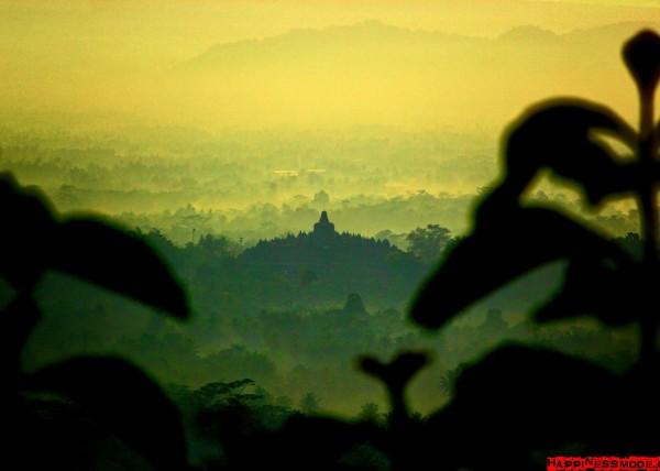Wschód słońca Setumbu Hill
