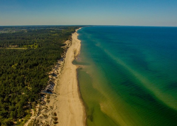 baltic sea dji phantom
