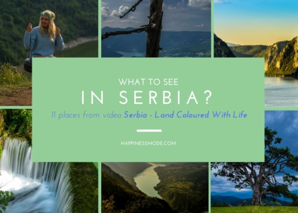 what to see in serbia
