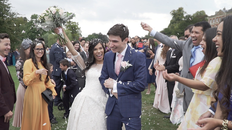 Brazilian wedding in UK